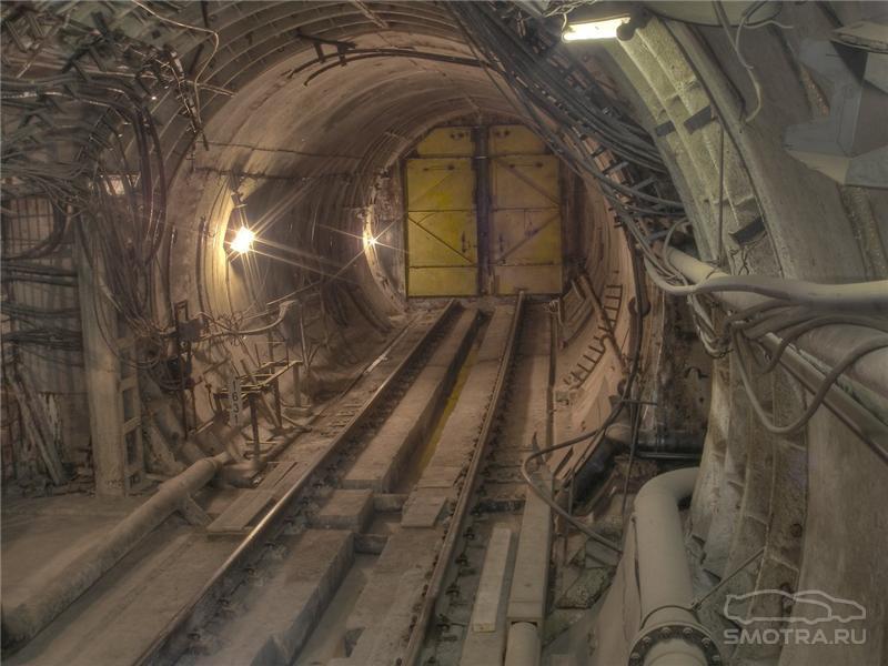 Внутренний диаметр тоннелей