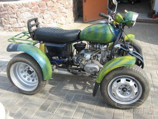Кроссовые мотоциклы своими руками