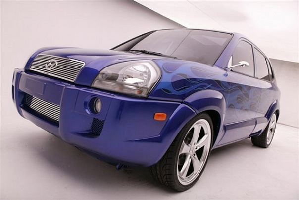 kDaddyz Hyundai Tucson SEMA 05.