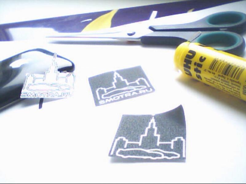 Как сделать наклейку принтер 814
