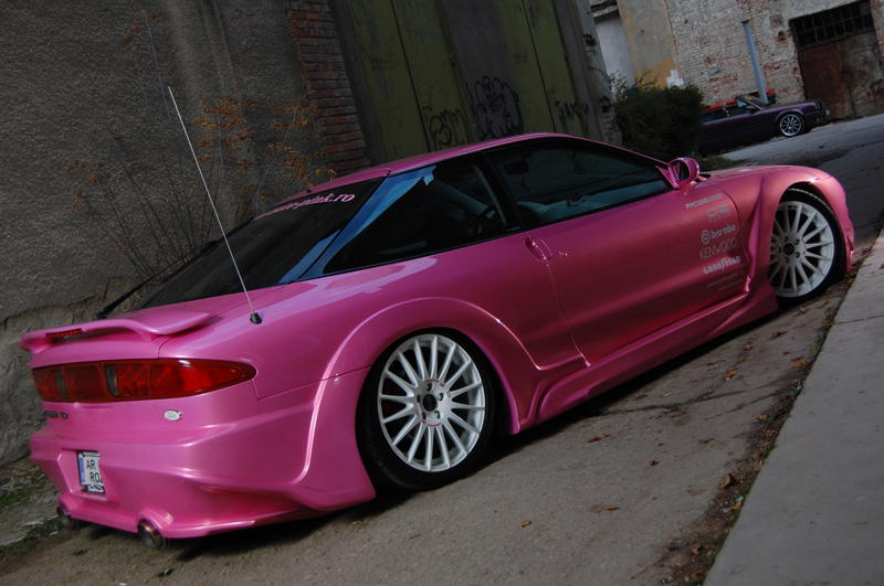 Pink Ford Probe NicK 013 Smotraru