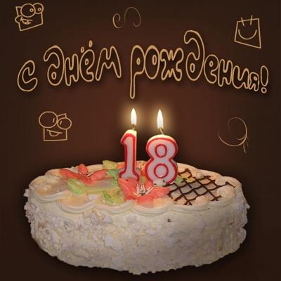 Смс поздравления с днем рождения с 18 лет