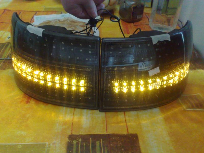 Светодиодная лента для фар своими руками
