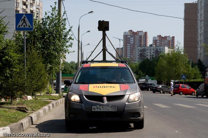 Машина яндекс панорама