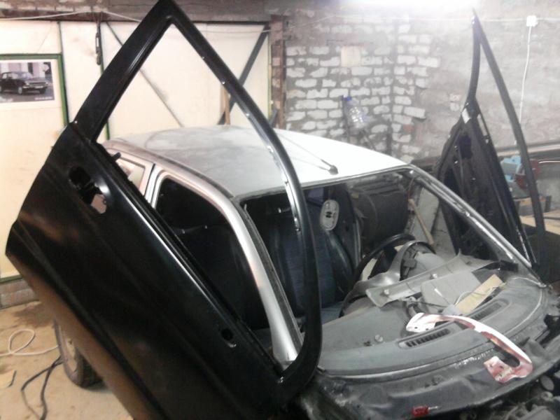 Lambo-doors in Daewoo Matiz / бортовик автомобиля ...