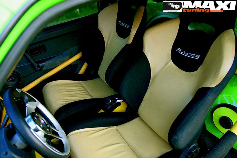 Inside. вварной каркас * сидения Racer от UNP, центральная вставка