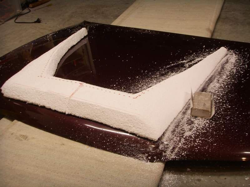 Изготовление капота из стекловолокна Информационный сайт про тюнинг