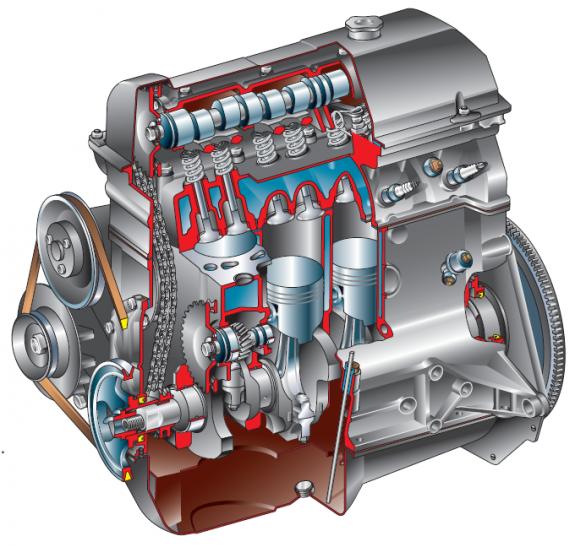 выпуска двигатель объемом