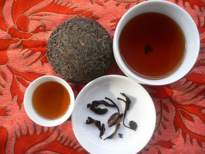 чай пуэр эффект похудения