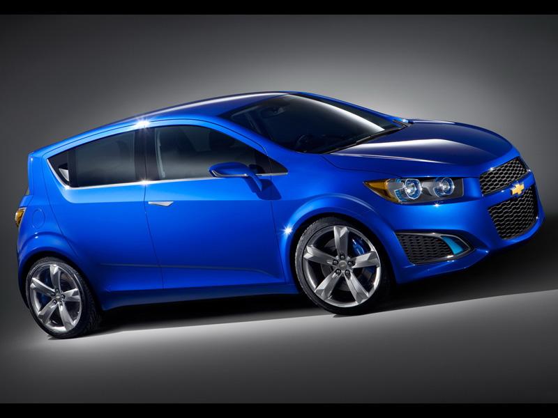 Chevrolet Aveo нового поколения.