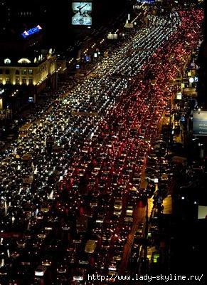 Интересная ситуация нет светофоров