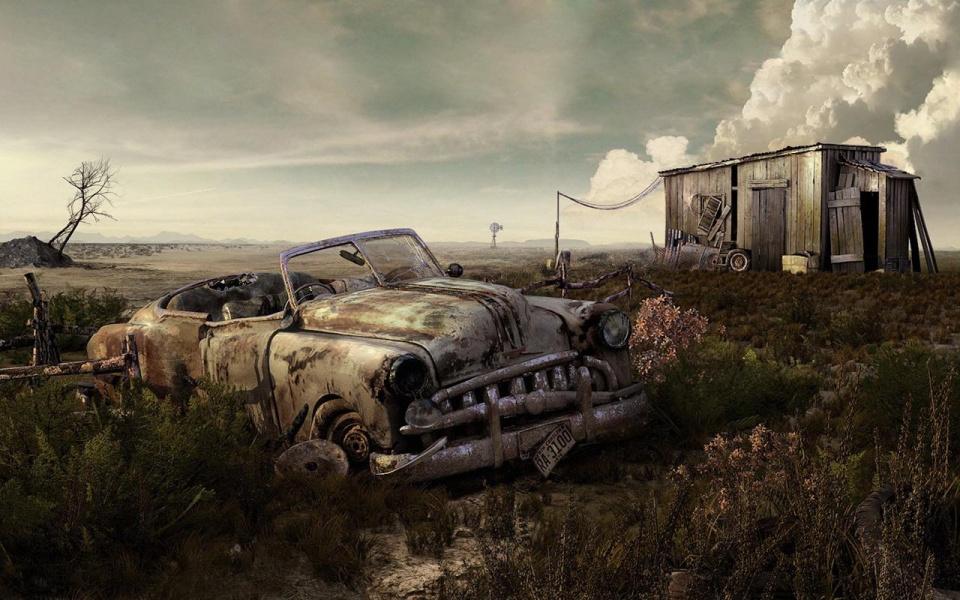 заброшенных машин